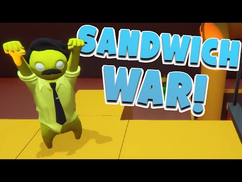 Gang Beasts - #126 - SANDWICH WAR!