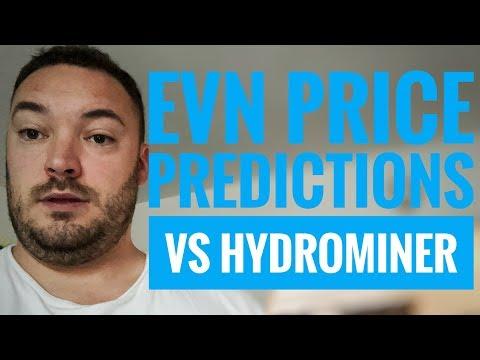 Envion price predictions vs hydrominer & hashflare pool changes