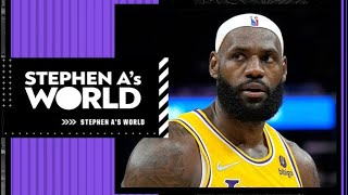 It's LeBron's last season to say he's the best player in the NBA - Stephen A. | Stephen A's World