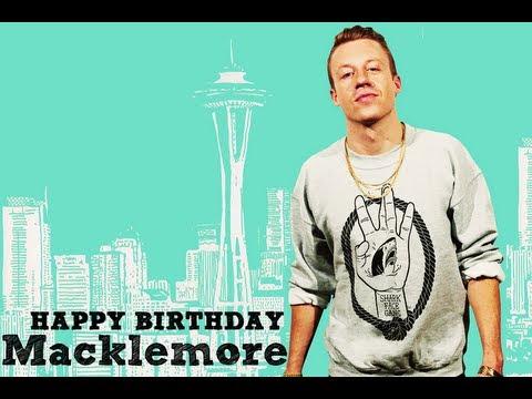 #HappyBirthdayMacklemore - Celebrating 30 Years of @Macklemore