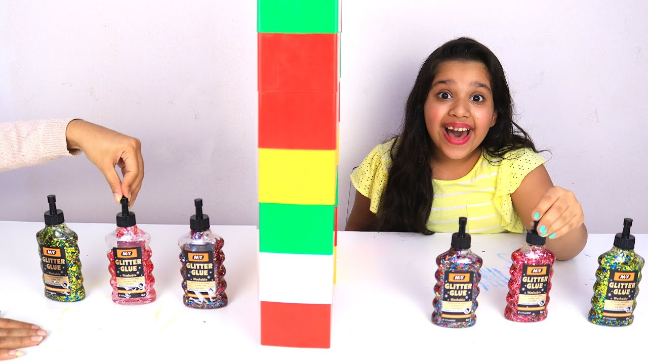 تحدي التوأم بالسلايم جديد !!! !!! Twin Telepathy Slime Challenge