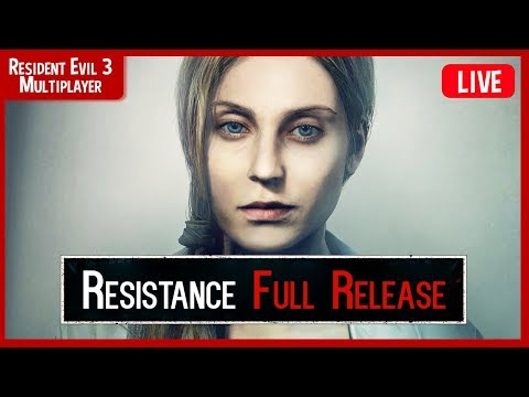 Resident Evil Resistance FULL GAME LIVE 🔴- NEW Mastermind And NEW Survivor Gameplay
