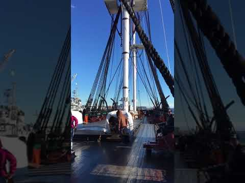 """USS Constitution """"Old Ironsides"""""""