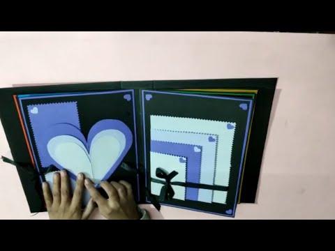 scrapbook for beginners \diy scrapbook \handmade scrapbook pages  ideas\how to make scrapbook