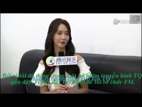 [ VIETSUB ] 160725 YoonA _ Tencent Interview for 'Are You Normal'