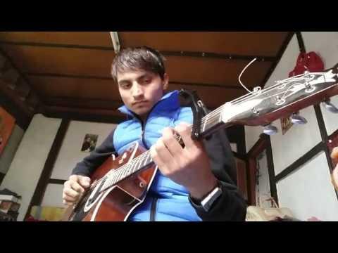 Guitar solo of thimphu babesa