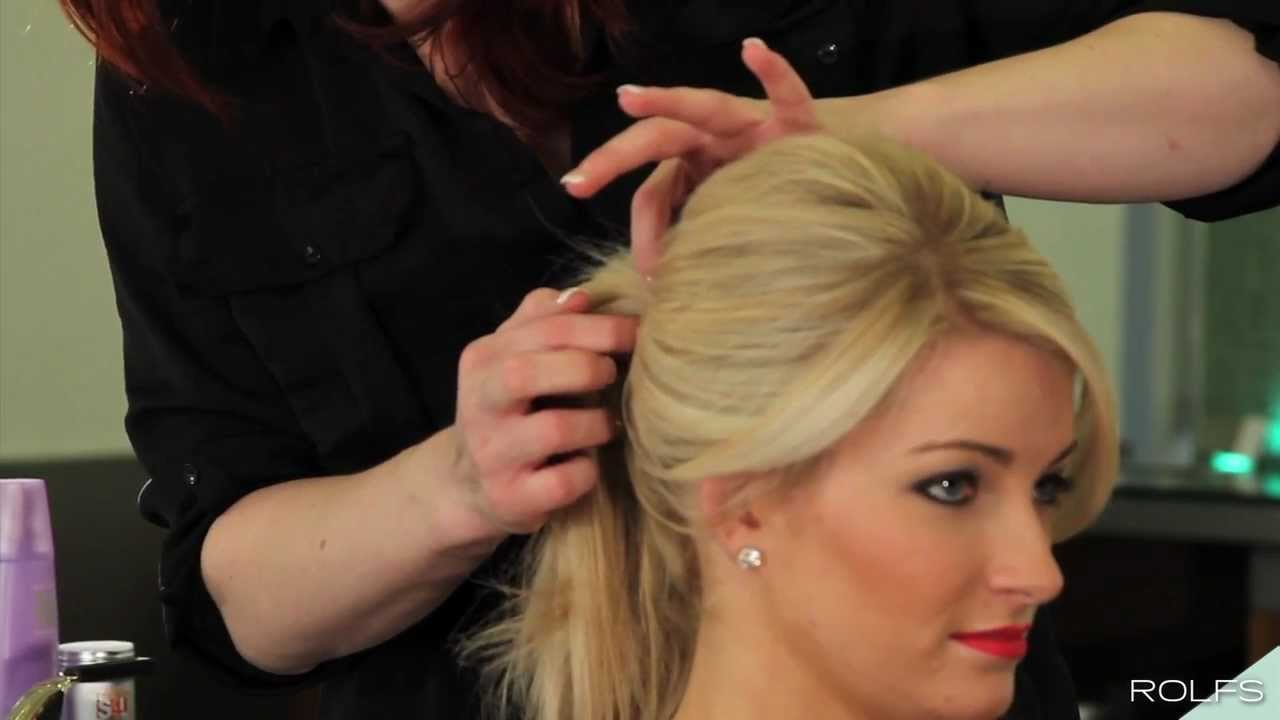 create the perfect high volume ponytail in 7 easy steps - youtube