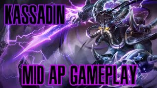 League of Legends - Kassadin AP Mid Gameplay - (Godin?) [PT-BR]