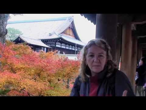 Visiting Kyoto, Japan in Autumn