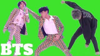 Зеленый экран Kpop BTS Group Green Screen Animation  Бесплатно скачать