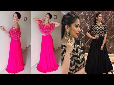 High Fashion Crop Top Dress Designs 2018
