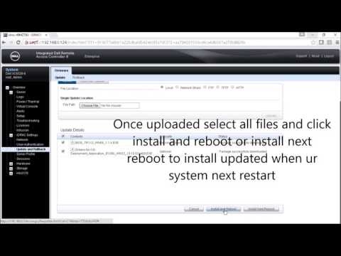 Updating Bios from DELL IDRAC - YouTube