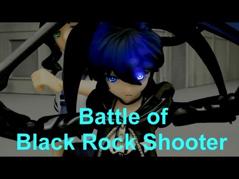 Figma Battle Stop Motion Animation 2: Battle of Black Rock Shooter
