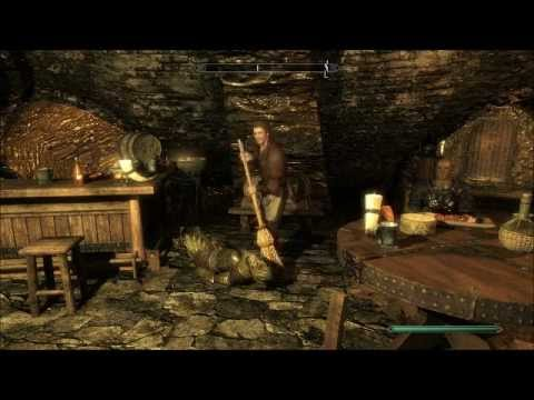 Skyrim-How to clean up a murder!