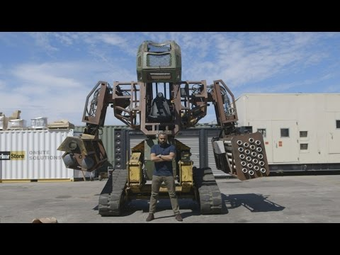 Test Driving a Giant Fighting Robot