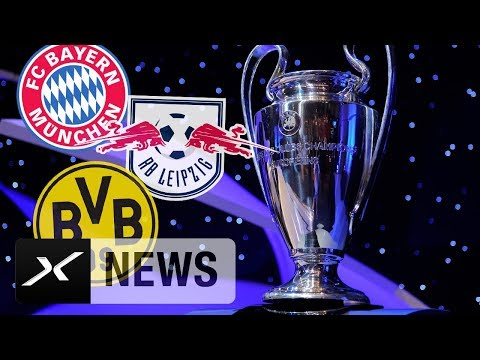 FC Bayern München vs. Neymar, Borussia Dortmund gegen Real Madrid, RB Leipzig mit Losglück