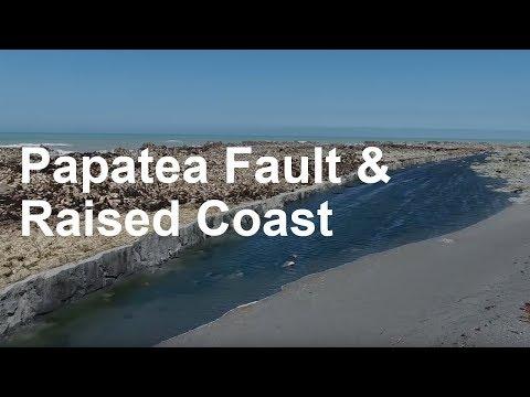Papatea Fault and Raised Coast