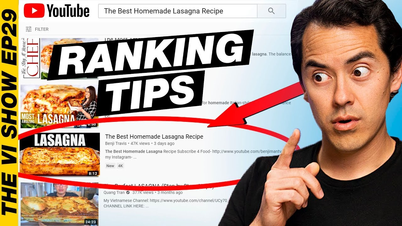 How to Rank YouTube Videos! #VIShow 29
