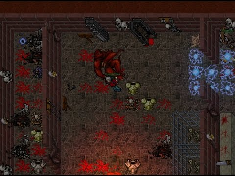 [Tibia 300+ Rp] 327 Rp Hunting Lost Souls with 10/10 Loot prey (Poi Seal)