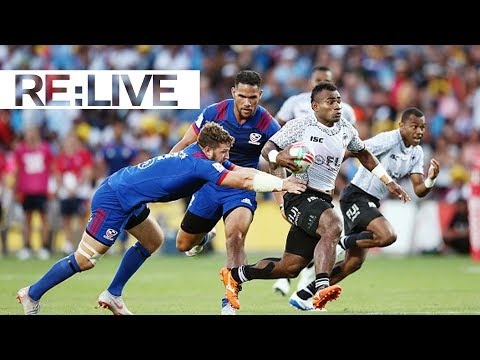 RE:LIVE: Fiji score one of the best tries you'll ever see!