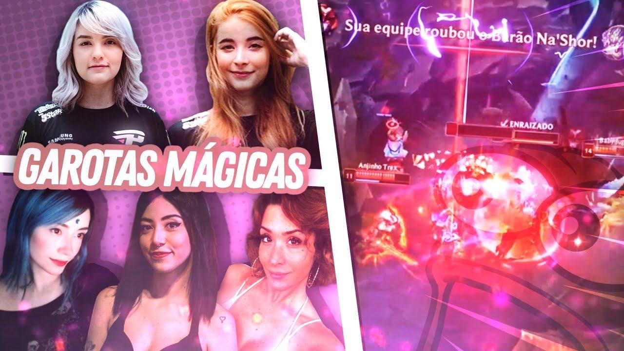 RIYUUKA - STREAMANDO DIRETO DA RIOT GAMES!! - Garotas Mágicas Especial dia das Mulheres