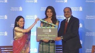 Anushka Sharma At Standard Chartered Press Conference