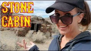 Solo Adventure Trip Part 2 of 7: Old Stone Cabin in the Middle of Nowhere, Nevada