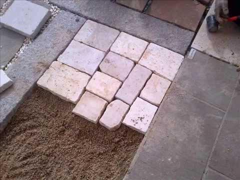 Posa pavimenti in pietra naturale su sabbia youtube