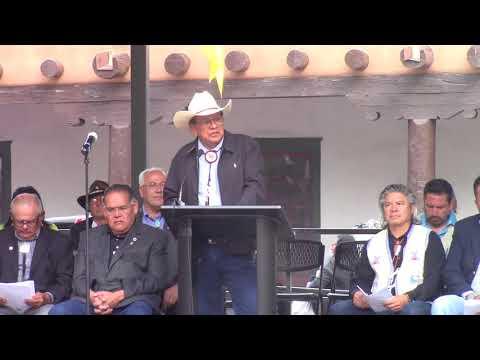 Jicarilla Apache Nation - Indigenous Peoples Day - Santa Fe, New Mexico