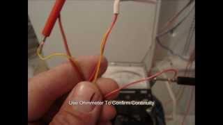 Home Alarm Wiring - Panel Installation Part 1 of 3.wmv