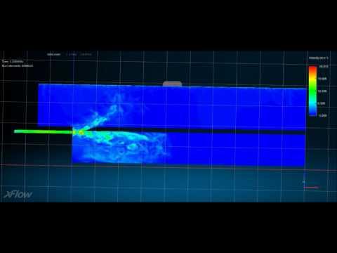 Helmholtz Resonator CFD Simulation