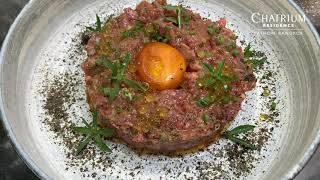 Beef Tartare & Italian Tomato Tartare – Let's Get Cooking with Chatrium!