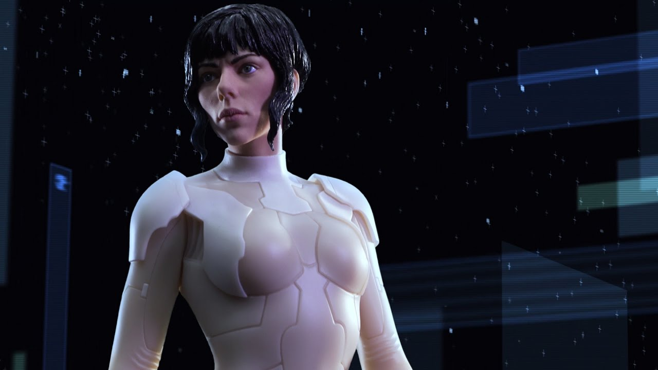 Weta Workshop Major Ghost In The Shell 1 4 Scale Figure