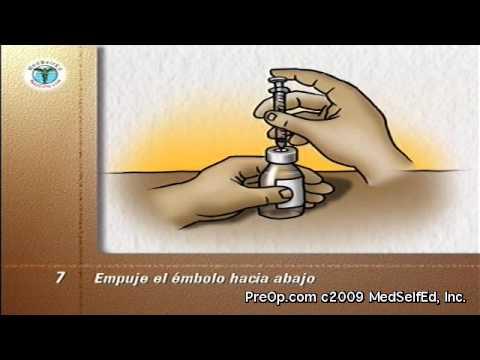 sitios de inyección para diabetes
