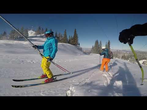 Skiing on Jahorina 2017
