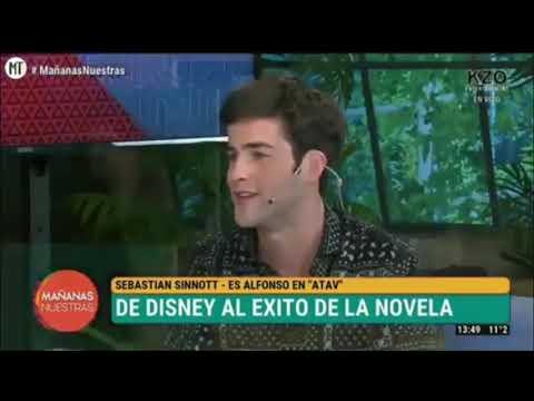 """#ATAV Sebastián Sinnott """"Alfonso"""" Hablando De """"Malek"""", Su Personaje Y La Novela"""