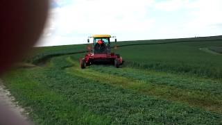 Double EE Farms Cutting Hay