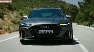 Audi RS6 2020 - Exhaust Sound | Driving | Interior