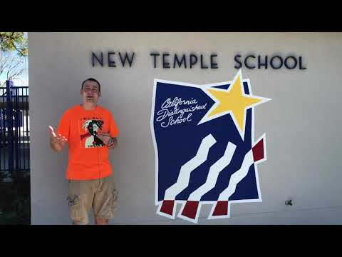Mr. Peace Visits New Temple Elementary School in South El Monte, California