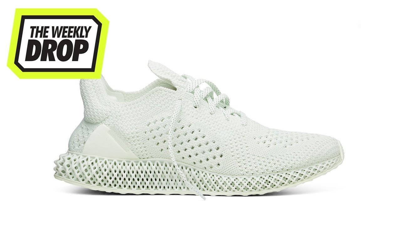 check out b1d21 9c500 Daniel Arsham x adidas Future Runner Australian Sneaker Release Info The  Weekly Drop