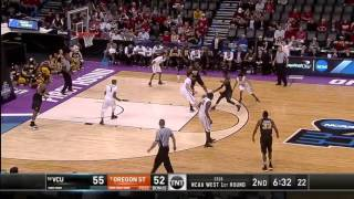 Vcu extends the lead with a mo alie-cox and-one dunk on oregon state, making it 57-52.watch highlights, game recaps, and much more from 2016 ncaa divisio...
