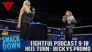 WWE Smackdown 9/18/18 Full Show Live Review | Fightful Wrestling Podcast | Rusev Day Splits!