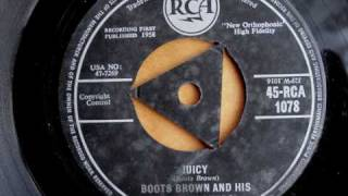 BOOTS BROWN AND HIS BLOCKBUSTERS - JUICY