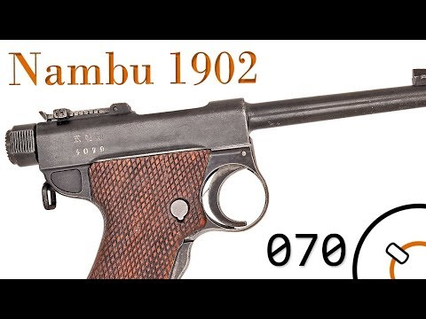 Small Arms of WWI Primer 070: Japanese Nambu Type A Modified