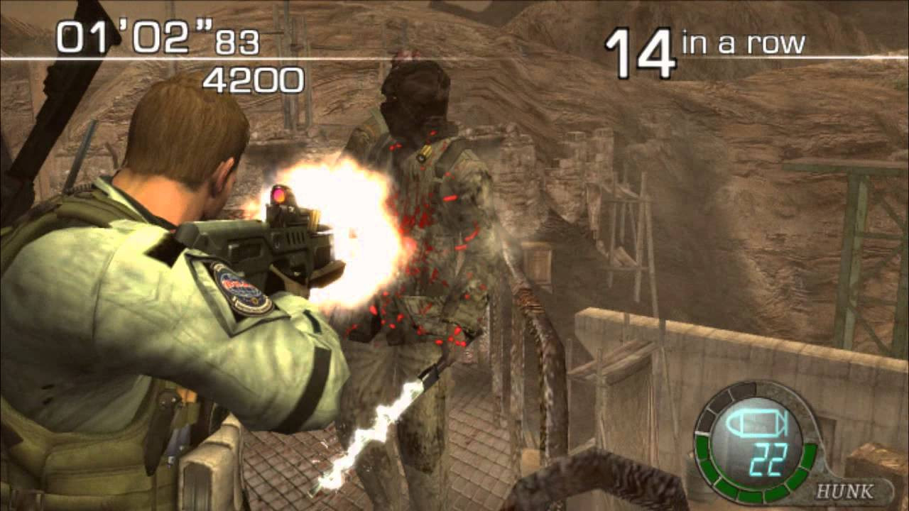 Resident Evil 6 (PS4) The mercenaries DUO Creature