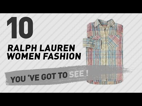 Ralph Lauren Linen Shirt // New & Popular 2017