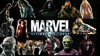 Marvel Ultimate Alliance 1 and 2 ALL BOSS BATTLES (XBOX ONE)