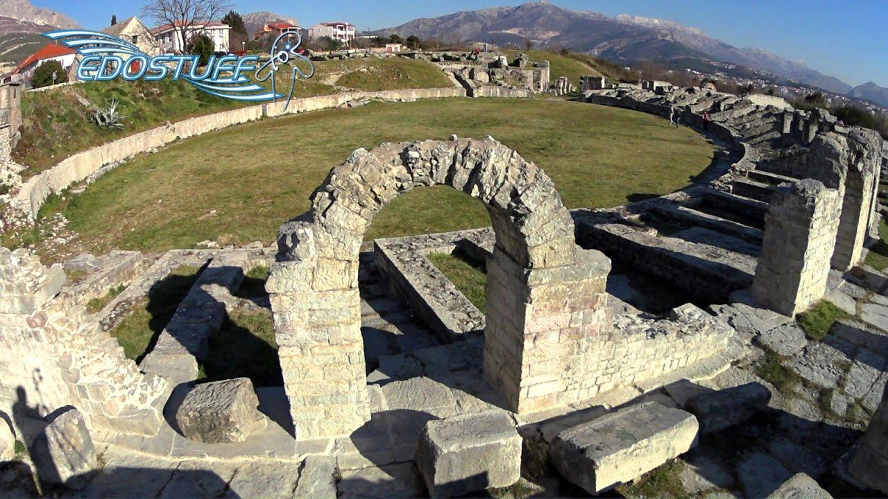 the ancient roman ruins of salona croatia hd youtube