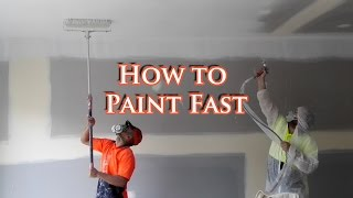 Save time painting a house with an Airless Spray Gun