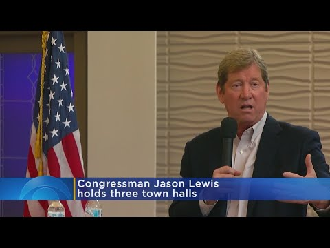 Rep. Jason Lewis Holds 3 Town Hall Meetings